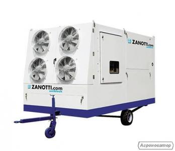 Мобильный холодильный агрегат для охлаждения зерна DUK Zanotti