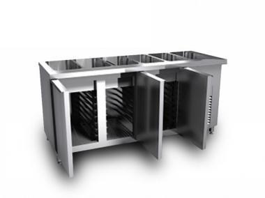 Прилавок охлаждающий под 5GN1/1 1800/700/850