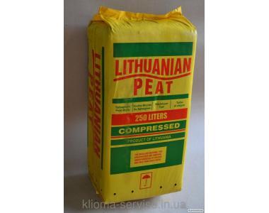Прибалтійський верховий торф 3,5-4,5 250л. для лохини,журавлини,брусниці