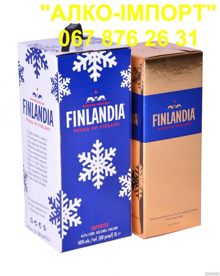Горілка Finlandia 2 L, 40 об., (роздріб, опт, dropshipping)