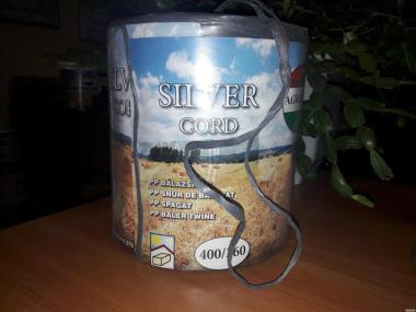Шпагат 350 м/кг сірий AGROTEX (Угорщина).