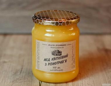 Мед з різнотрав'я