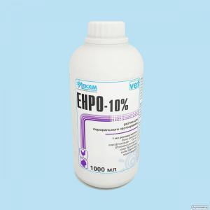 Енро-10% р-н для перорального. застосування ,1000 мл (енрофлоксацин)