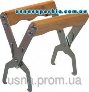Захват для рамок з дерев'яними ручками (оцинковка)
