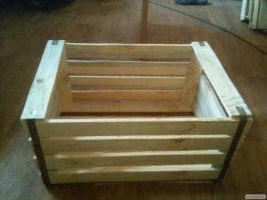 Ящик яблочный усиленный 300х400х600