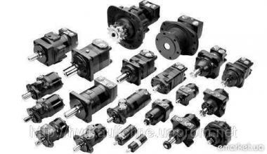 Гідромотори для комбайнів Kawasaki, Sauer Danfoss, Linde, Vivoil, EATON, B&C.
