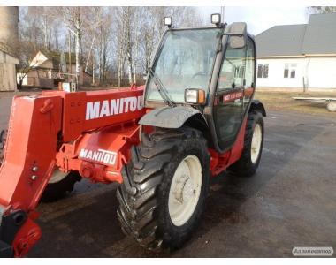 Навантажувач телескопічний MANITOU MLT 730-120