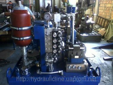 Гидромаслостанции (гідростанції, станції гідроприводу, маслостанції).