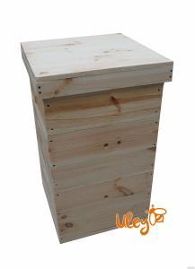Улей Многокорпусный под рамку типа «Дадан 300 мм» с магазином (2 корпуса+магазин, на 12 рамок)