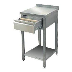 Стіл під кавоварку з нержавіючої сталі (нержавіюча сталь)