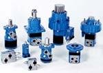 Гидромоторы (моторы) шестеренные, аксиально-поршневые, радиально-поршневые, пластинчатые, героторные