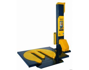 Паллетообмотчик F1-HS SIAT с Е-платформой для заезда ручными тележками