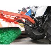 оборудование щеточное для трактора МТЗ, ЮМЗ  щетка дорожная