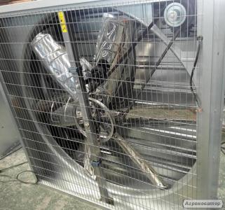 Вентилятор осьовий (аксіальний)