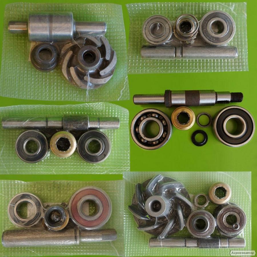 Ремкомплекти водяного насоса (помпи) двигунів вантажних автомобілів