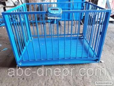 Ваги для зважування тварин: : ВРХ, свиней, телят