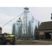 Зернохранилища в малых объемов 10-1500 т,