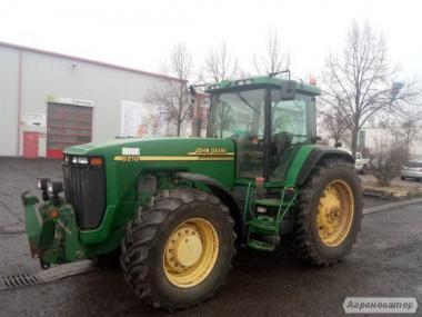 Трактор колесный John Deere 8210 2000 г/в, коробка Powersfift.