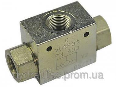 Клапан АБО різьбового монтажу VUSF
