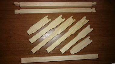 Рамки для ульев Дадана (435х300)
