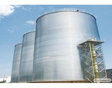 Стальные зерновые силоса и резервуары