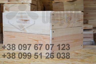 10-рамковий корпус «Дадан» на рамку 300мм