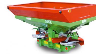 Запчастини на розкидачі мінеральних добрив причіпні, навісні Unia MX, MXL, MS, RCW