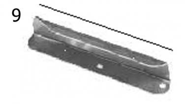Запчасти на разбрасыватели минеральных удобрений прицепные, навесные Unia MX, MXL, MS, RCW