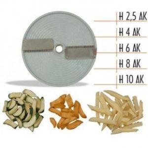 Диск для нарізки зігнутої соломки 4 мм Celme CHEF Н4 AK