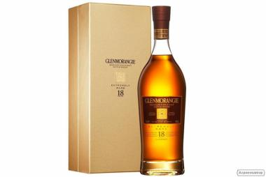 Виски Гленморанджи крайне редко 18 лет, в подарочной коробке, 700 мл