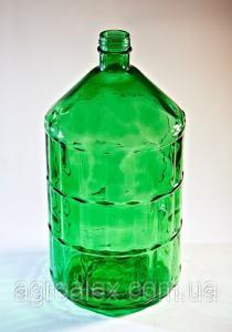Бутель склянний 22л з кришкою (ТІЛЬКИ САМОВИВІЗ)