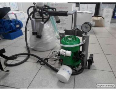 Доильный аппарат для коров Доярочка (сухой насос). Комплектующие