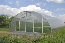 Каркас теплицы фермерской 8*12*3,5 м под поликарбонат