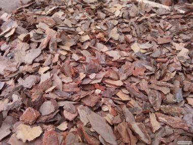 Продам соснову кору дрібної фракції 1-2 см
