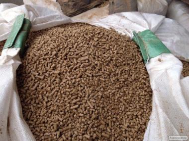 Продам топливные гранулы (пеллеты) от производителя