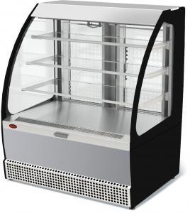 Вітрина холодильна VSо-1,3 VENETO нерж.