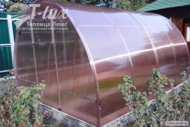 Теплица Файна 3*8*2 с поликарбонатом 4 мм.