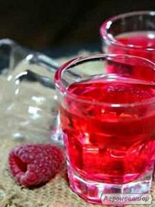 Домашнє малинове вино