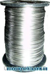 Дріт пасічний 0,3-0,4 мм (нержавіюча сталь)