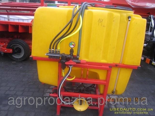 Обприскувач навісний тракторний ОП-600