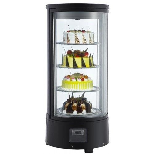 Вітрина холодильна EWT INOX RTC-72L (БН)