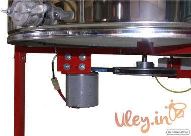4-х рамкова Медогонка, нержавіюча автоматична