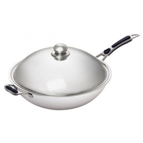Сковорода WOK для индукц.плити Bartscher IW35 105981 (БН)