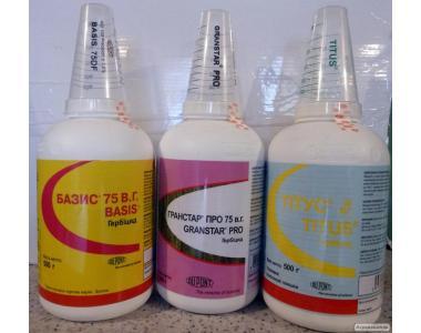 гербициды, харнес, лазурит, базис, титус, гранстар, зенкор, тренд