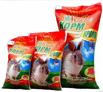 Комбікорми для кролів
