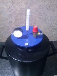 Автоклав для консервирования средний 20 л на 14 банок литровых