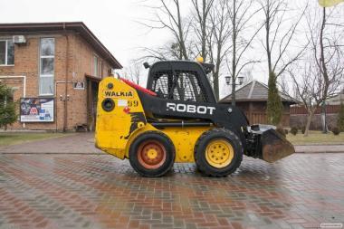 Автонавантажувач міні фронтальний JCB Robot 160