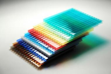 Стільниковий полікарбонат POLICAM кольоровий 16мм
