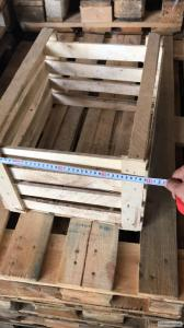 Ящик деревянный для декораций