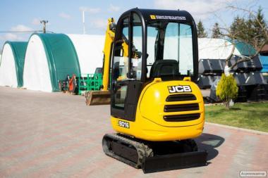 Мини экскаватор JCB 8016 (дизель)